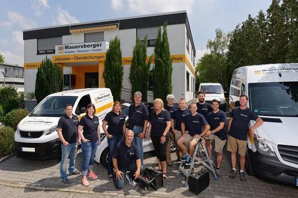 Teambild Firma Mauersberger
